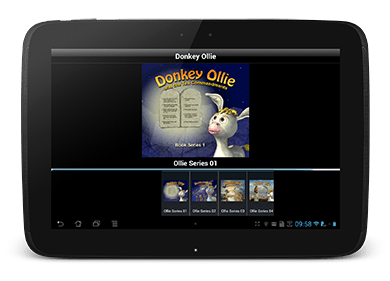 Tales of Donkey Ollie Sunday School Lesson Android App Screenshot