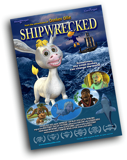 Movie Poster for Donkey Ollie 3: Shipwrecked